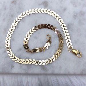 Chevron Choker Necklace